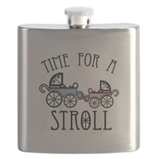 Time For A Stroll Flask