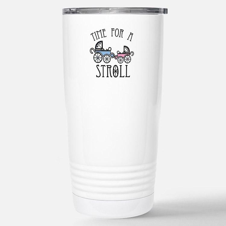 Time For A Stroll Travel Mug