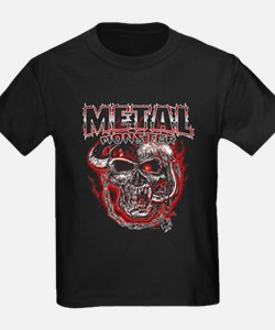Heavy Metal Monsters Crest T