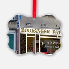 A french bakery at Pont-Farcy in  Ornament