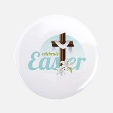 """Celebrate Easter 3.5"""" Button (100 pack)"""