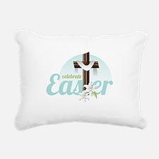 Celebrate Easter Rectangular Canvas Pillow
