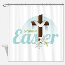 Celebrate Easter Shower Curtain