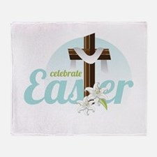 Celebrate Easter Throw Blanket