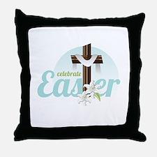 Celebrate Easter Throw Pillow