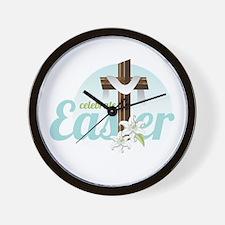 Celebrate Easter Wall Clock