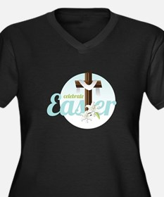 Celebrate Easter Plus Size T-Shirt