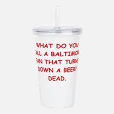 BALTIMORE2.png Acrylic Double-wall Tumbler