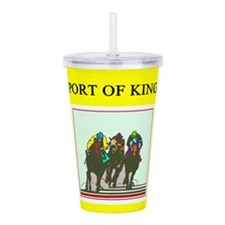 thoroughbred horse racing race track joke Acrylic