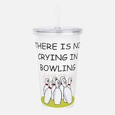 bowling gifts Acrylic Double-wall Tumbler