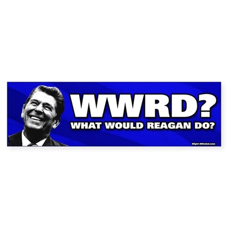 """WWRD?"" Bumper Sticker"