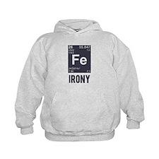 Ironic Chemical Element FE Irony Hoodie