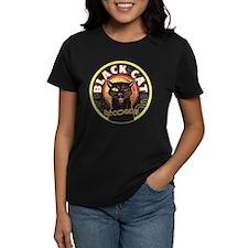 Black Cat Records Lp Art Tee