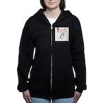 12 Women's Zip Hoodie