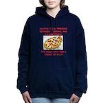 LIBERAL pizza Women's Hooded Sweatshirt