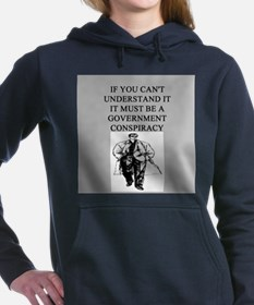 CONSPIRACY2.png Women's Hooded Sweatshirt