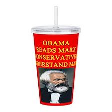 anti obama socialism gifts t-shirts Acrylic Double