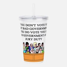 election jury duty gifts apparel Acrylic Double-wa