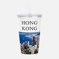 HONGKONG2.png Acrylic Double-wall Tumbler