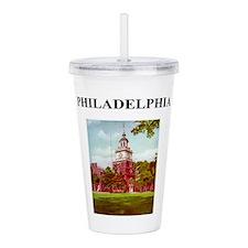 Philadelphia Acrylic Double-Wall Tumbler