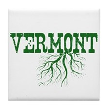 Vermont Roots Tile Coaster