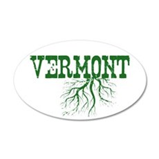 Vermont Roots 35x21 Oval Wall Decal
