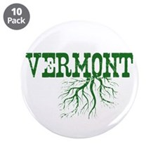 """Vermont Roots 3.5"""" Button (10 pack)"""