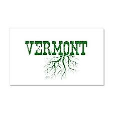 Vermont Roots Car Magnet 20 x 12