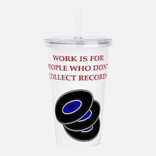 records Acrylic Double-wall Tumbler