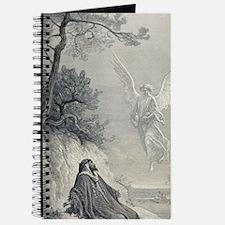 Gustave Dore. 19th cent. engraving. Elijah Journal