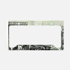 Execution of the pirate Stoer License Plate Holder