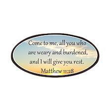 MATTHEW 11:28 Patches