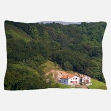 Rural farmhouse in the Pyrenees-Atlant Pillow Case