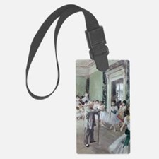 Painting by Degas, dancing class Luggage Tag
