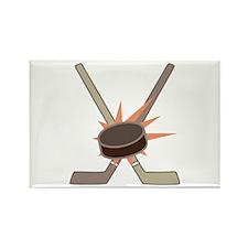 Hockey Puck Magnets