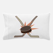 Hockey Puck Pillow Case