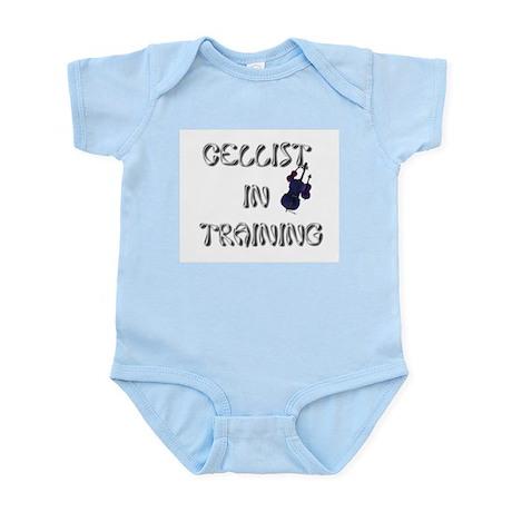 """Cellist in Training"" Infant Bodysuit"