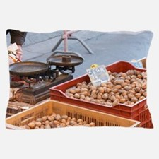 Walnuts and dried plums for sale at a  Pillow Case
