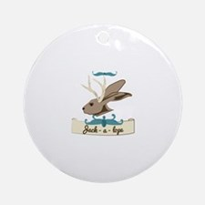 Jack a lope Ornament (Round)