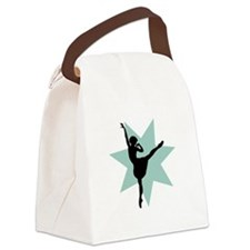 Beautiful Ballerina Canvas Lunch Bag
