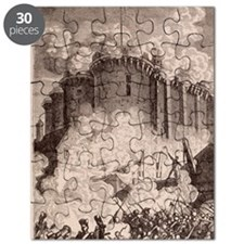 French Revolution, Storming the Bastille. Puzzle