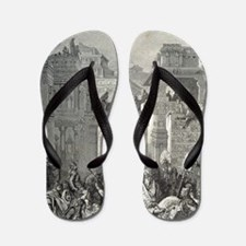 19th Century engraving by Paul Gustave  Flip Flops