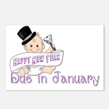 New Year Baby Postcards (Package of 8)