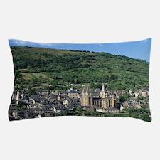 Scenic view of Benedictine Abbey Churc Pillow Case
