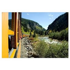 Colorado, The Durango & Silverton Narrow Gauge Rai Canvas Art
