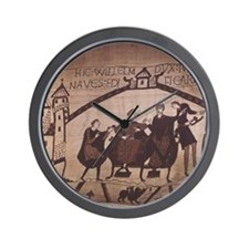Bayeux Tapestry. William commands the f Wall Clock