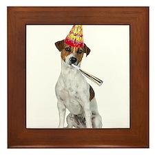 Jack Russell Terrier Birthday Framed Tile