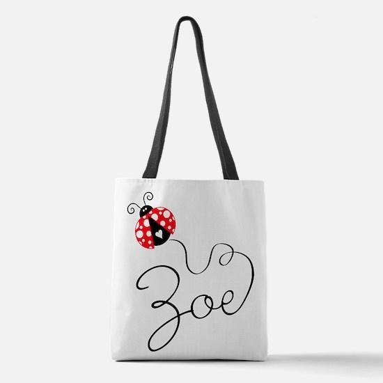 Ladybug Zoe Polyester Tote Bag
