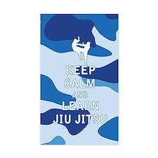 Keep Calm and Learn Jiu Jitsu Decal