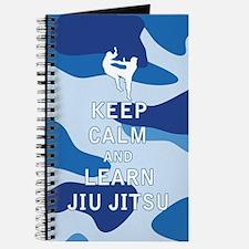 Keep Calm and Learn Jiu Jitsu Journal